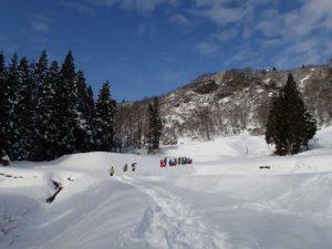 穏やかな天候の中で、雪に包まれた体験をすることが出来ました。